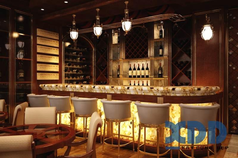 Thiết kế bar rượu đẹp