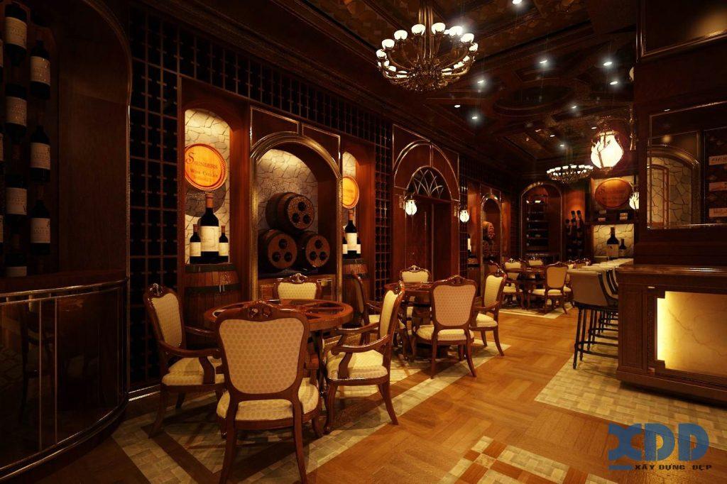 Thiết kế nội thất bar rượu