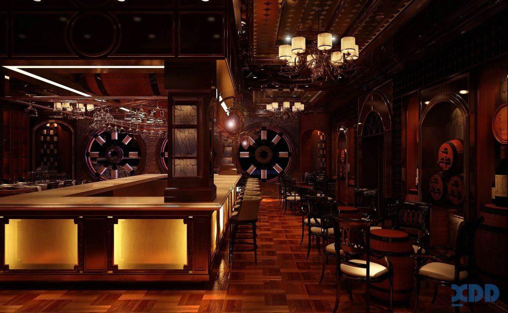 Thiết kế hầm rượu đẹp
